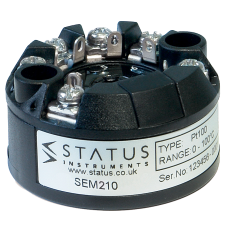 Status SEM210 Universal Programmable Temperature Transmitter