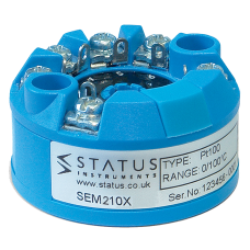 Status SEM210X ATEX Approved Universal Programmable Temperature Transmitter